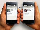 分享撞撞传 Bump   分享联系人资讯和照片
