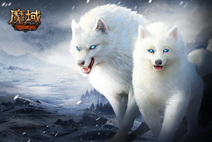 霜风狼骑宝箱 魔域 礼包领取中心 活动页面 点击进入领取