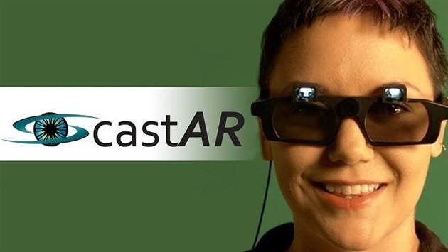 castAR眼镜
