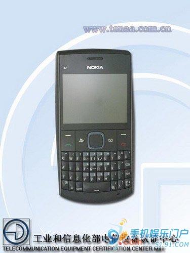 诺基亚新机X2-01 全键盘