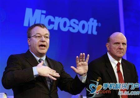诺基亚将向微软支付版权费使用WP7